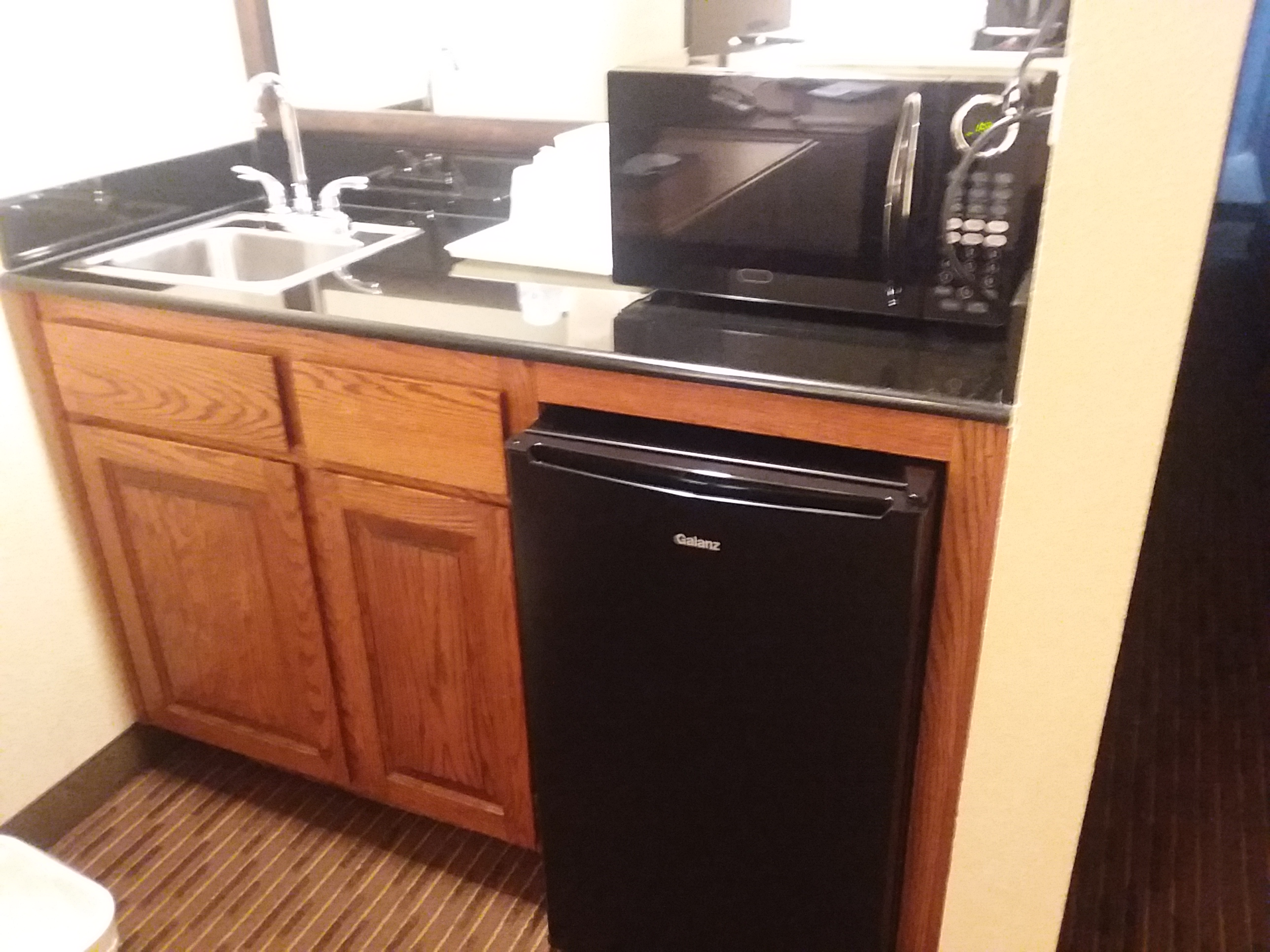 Suite with Refrigerator